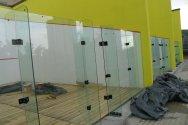 Bosphorus City Squash kortu yapım projesi