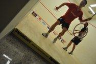 Uluslarası Squash Turnuvası için seçilen kortu